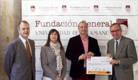 Entrega de la recaudación de la II Gala Benéfica a favor de PYFANO