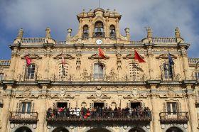 Recepción en el Excmo. Ayuntamiento de Salamanca