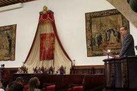 Clausura oficial en el Paraninfo de la Universidad de Salamanca_10