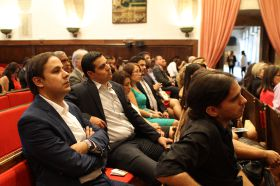 Clausura oficial en el Paraninfo de la Universidad de Salamanca_12