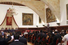 Clausura oficial en el Paraninfo de la Universidad de Salamanca_13