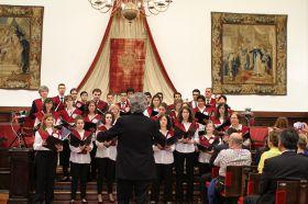 Clausura oficial en el Paraninfo de la Universidad de Salamanca_14