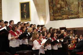 Clausura oficial en el Paraninfo de la Universidad de Salamanca_16