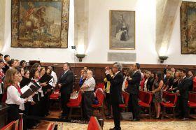 Clausura oficial en el Paraninfo de la Universidad de Salamanca_18