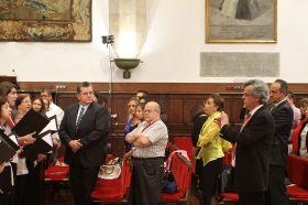 Clausura oficial en el Paraninfo de la Universidad de Salamanca_19