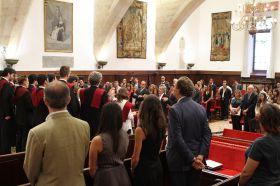 Clausura oficial en el Paraninfo de la Universidad de Salamanca_20