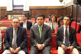 Clausura oficial en el Paraninfo de la Universidad de Salamanca_8