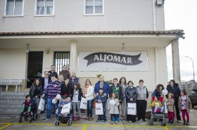 Aljomar acogió a niños de Aerscyl y sus familiares