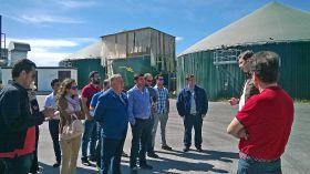 Visita a planta de producción de biogás y explotación agropecuaria