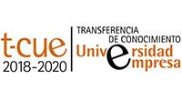 logotipo tcue, transferencia de conocimiento 2018-2020