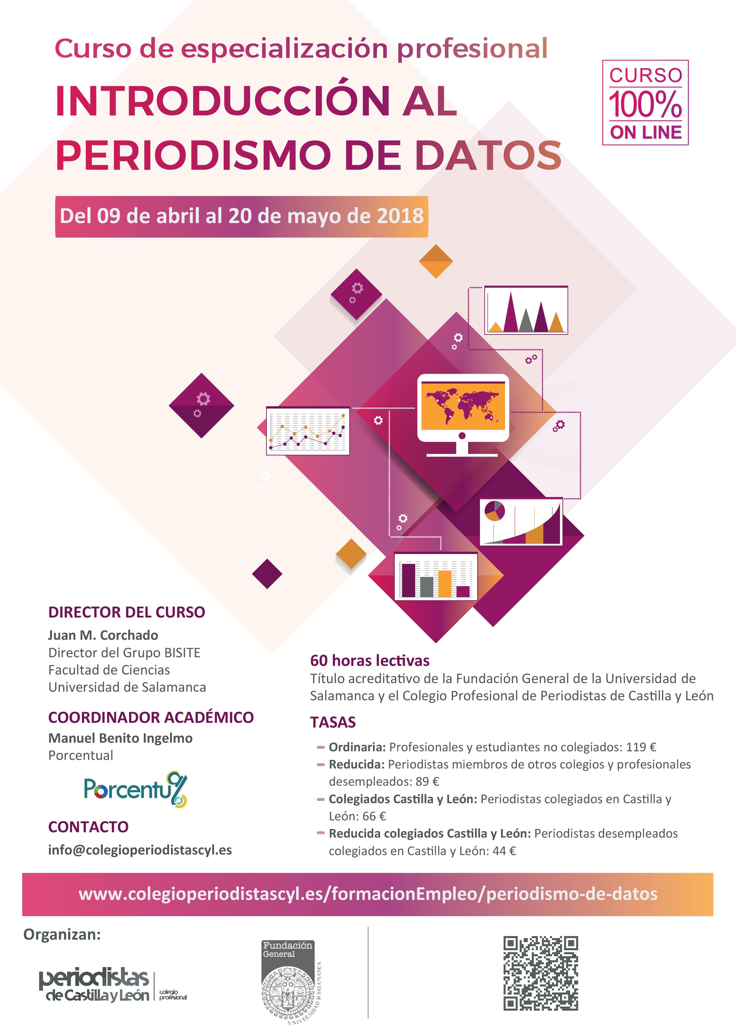 Cartel Curso Periodismo de Datos