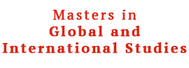Masters in Global and International Studies